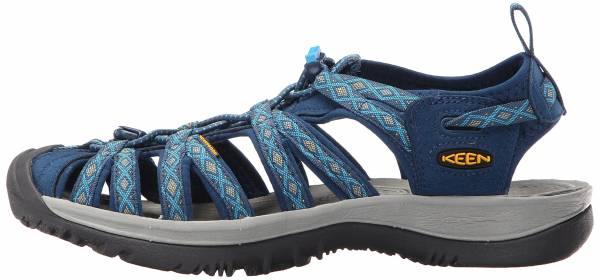 Keen Clearwater CNX Women Leather Sandale magnet//sangria Damen Sandale Grau