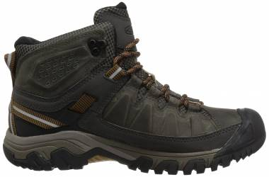 Keen Targhee III Waterproof Mid - Black Olive/Golden Brown