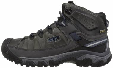 KEEN Targhee III Waterproof Mid - Steel Grey/Captains Blue (1017788)