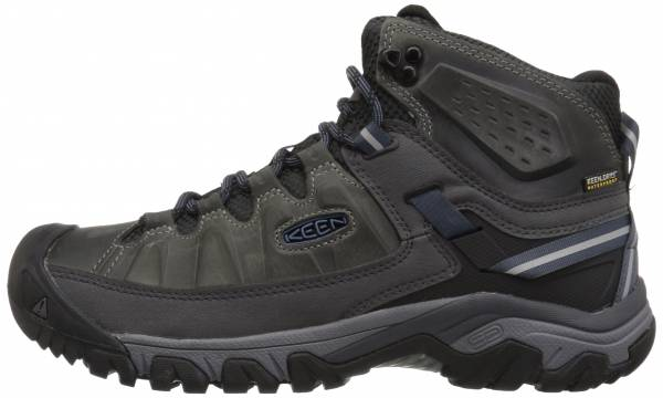 Keen Targhee III Waterproof Mid Steel Grey/Captains Blue
