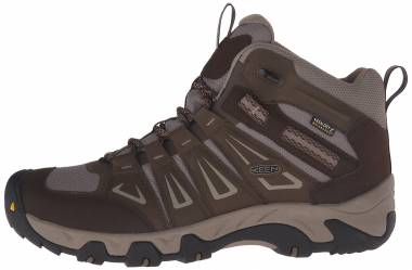 Keen Oakridge Mid Waterproof  Brown Men