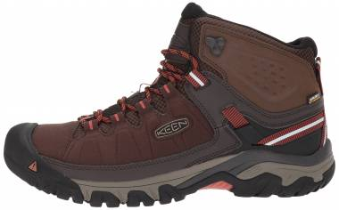6e1fdcca72e8 Keen Targhee EXP Mid Waterproof Mulch Burnt Ochre Men
