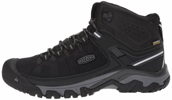 KEEN Targhee EXP Mid Waterproof - BLACK/STEEL GREY (1017715)