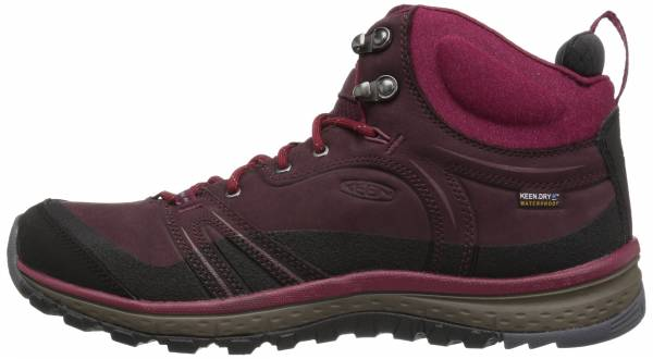 Keen Terradora Leather Mid Waterproof - Violett Wine Rododendron