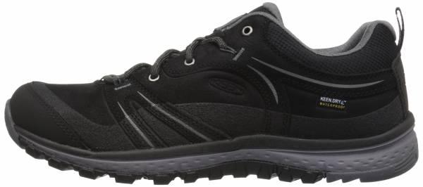 KEEN Terradora Leather Waterproof - Black/Steel Grey (1018017)
