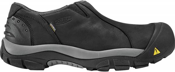 KEEN Brixen Waterproof Low - BLACK/GARGOYLE (1002268)