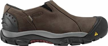 KEEN Brixen Waterproof Low - SLATE BLACK/MADDER BROWN