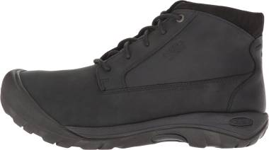 KEEN Austin Casual Waterproof Boot - Black Raven