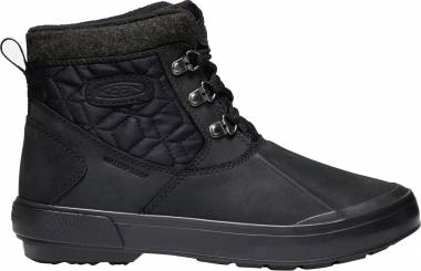 KEEN Elsa II Waterproof Quilted Ankle Boot - BLACK