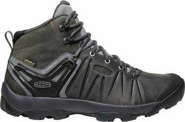 KEEN Venture Mid Leather WP - Steel Grey/Magnet (1021616)