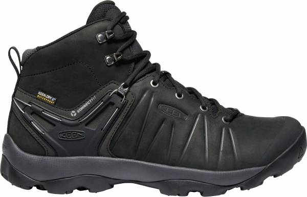 KEEN Venture Mid Leather WP - Black Magnet