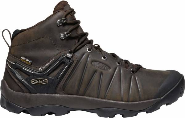 KEEN Venture Mid Leather WP - Mulch/Black