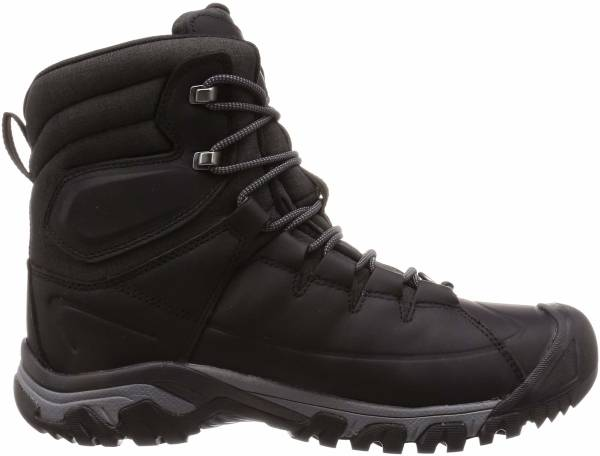 KEEN Targhee High Lace Waterproof Boot - Black/Raven