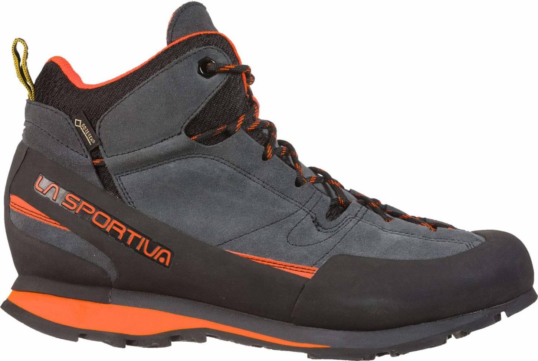 La Sportiva Boulder X MID Men/'s Approach Boots Grey//Red