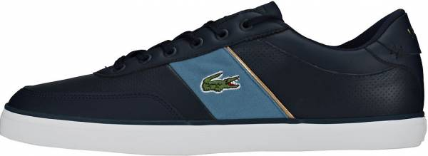 Lacoste Court-Master Navy Blue Leather
