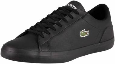 Save 18% on Black Lacoste Sneakers (12