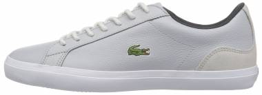 Lacoste Lerond Leather Light Grey/Dark Grey Men