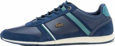 Lacoste Menerva Leather  - Bleu Marine