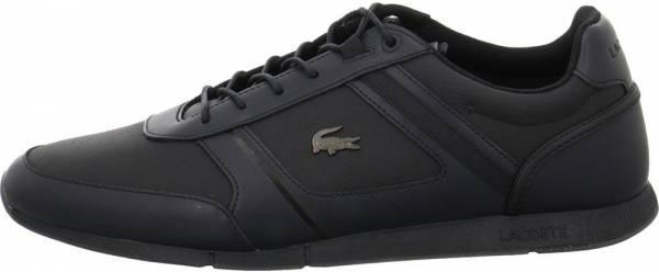 Lacoste Menerva Leather  - Black/Black Leather