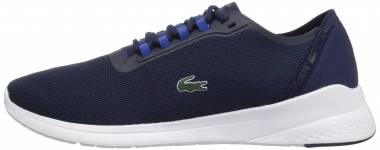 Lacoste LT Fit Textile Trainer - Navy