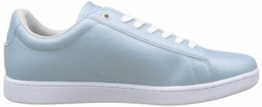 Lacoste Carnaby Evo Trainers - Lt Blue