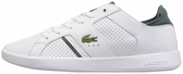 Lacoste Novas CT Leather White / Dark Green