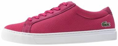 Lacoste L.12.12 Textile Trainers Pink Men