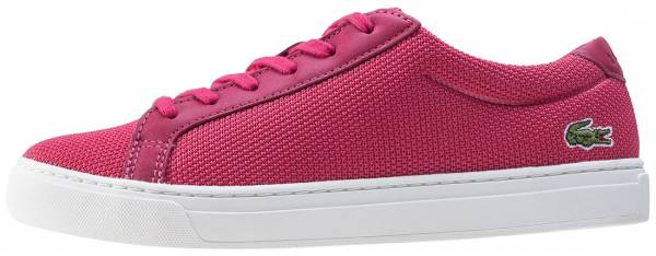 Lacoste L.12.12 Textile Trainers Pink