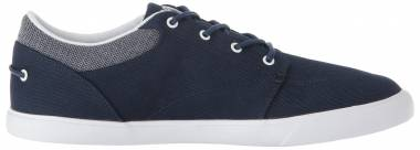 Lacoste Bayliss Sneaker Navy/White Canvas Men