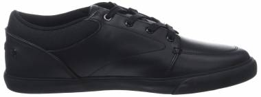 Lacoste Bayliss Leather Trainer  Black Men