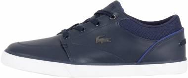 Lacoste Bayliss Leather Trainer  - Bleu Nvy Dk Blu Nd1