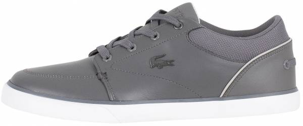 Lacoste Bayliss Leather Trainer  Gray