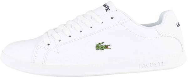 Lacoste Graduate Leather - White / Pink / Brown / Beige / Turquoise