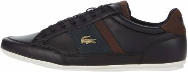 Lacoste Chaymon - Black/Dark Brown (39CMA00122M5)