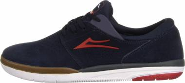 Lakai Fremont - Navy/Red Suede