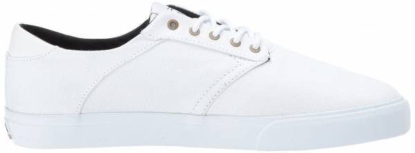 Lakai Porter - White/White Canvas