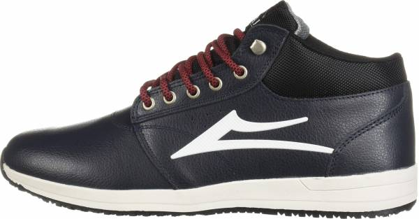 Lakai Griffin Mid - Navy Leather