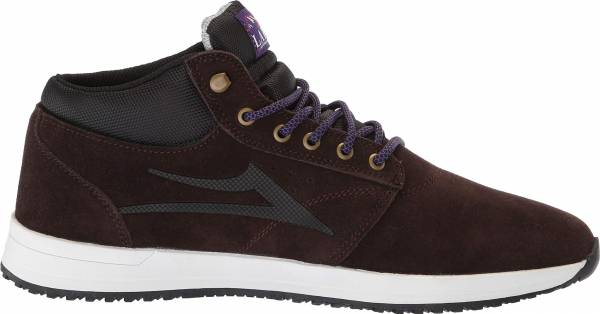 Lakai Griffin Mid - Chocolate Suede