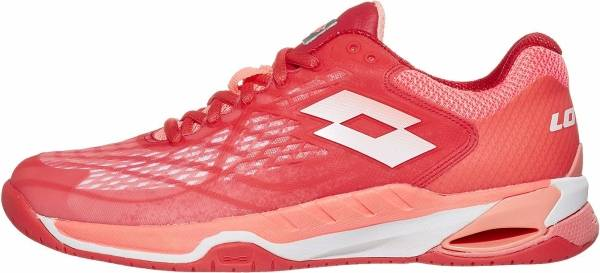 Lotto Mirage 100 SPD - Red Fluo All White Vivid Rose (2107395Z3)