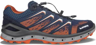 Lowa Aerox GTX Lo Surround - Navy/Orange