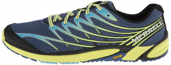 Merrell Bare Access 4 men tahoe blue/sunny yellow