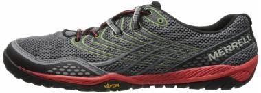 Merrell Trail Glove 3 Gris (Grey/Red) Men