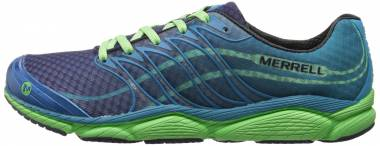 Merrell All Out Flash Racer Blue/Bright Green Men