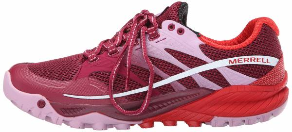 Merrell All Out Charge woman bright red