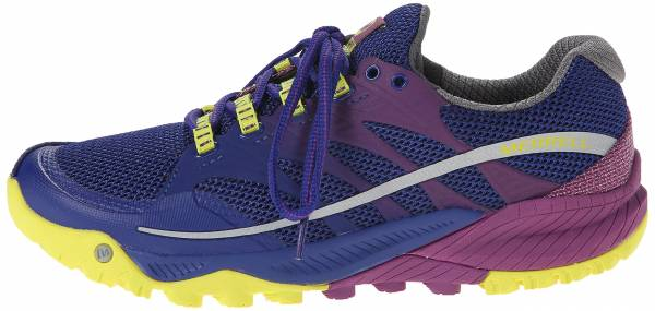 Merrell All Out Charge woman mehrfarbig (wild plum / lime)