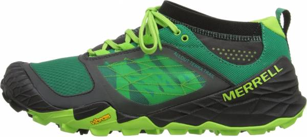 Merrell All Out Terra Trail men bright green