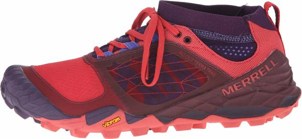Merrell All Out Terra Trail woman violett (wild plum/red)