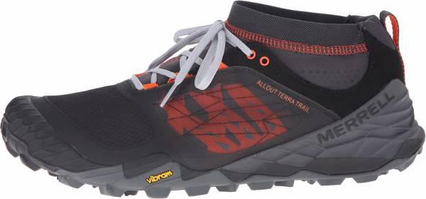 Merrell All Out Terra Trail men black orange