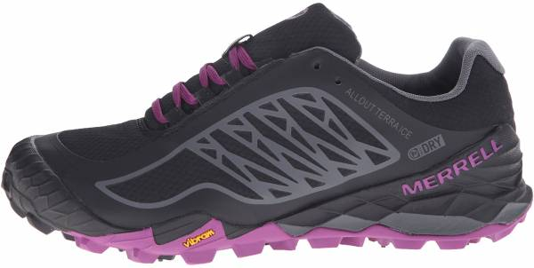 Merrell All Out Terra Ice woman black/purple