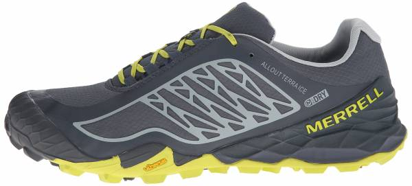 Merrell All Out Terra Ice men turbulence / bright yellow